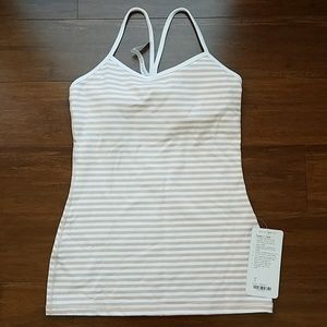 New with tags Lululemon Power Y Tank size 6